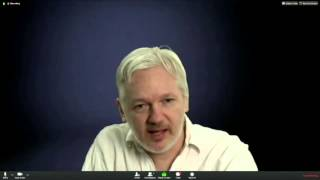 Julian Assange on DiEM25