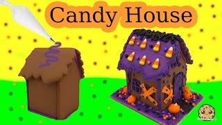 Video Make A Halloween Haunted Cookie House - Wilton DIY Food Craft Fun Kit Cookieswirlc Video MP3, 3GP, MP4, WEBM, AVI, FLV Oktober 2018