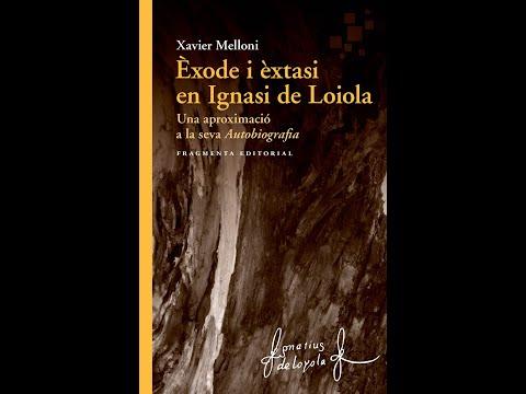 Xavier Melloni presenta 'Èxode i èxtasi en Ignasi de Loiola' a Barcelona