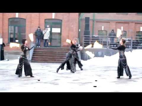 Видео отчет с выступления на Масленнице