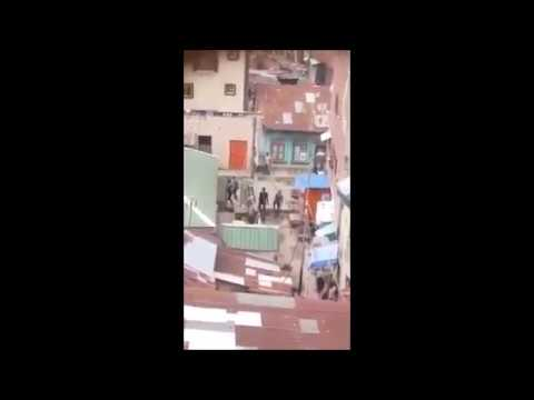 Live Shooting Caught On Camera In Lagos Nigeria - Street Fight