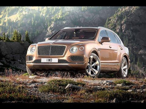 2015 Bentley Bentayga revealed - manufacturer video