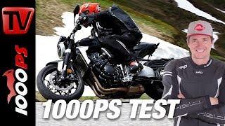 9. Honda CB1000R Test - Alpenmasters - Harter Test am Berg - Teil 7 von 18