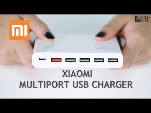 Xiaomi USB Multi-Port Charger Unboxing - GearBest