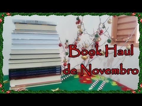 Book Haul de Novembro (2017) | Um Livro e Só