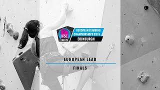 2019 IFSC Europe Climbing Championships - Lead Finals by teamBMC