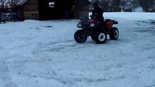 9. 2004 Arctic Cat 400 4x4 in Winter
