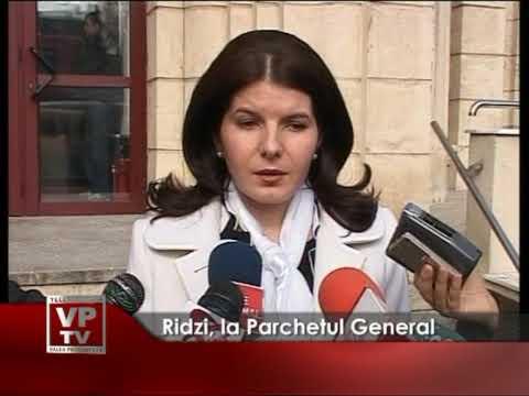 Monica Iacob Ridzi, la Parchetul General