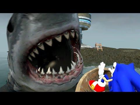(April fools 2012) Exclusive! Sonic in JAWS 2 sneak peek!
