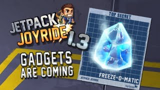 "Jetpack Joyride Gadgets Update ""Freeze-O-Matic"""