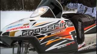 1. Arctic Cat CFR 800 vs. Arctic Cat Crossfire 800