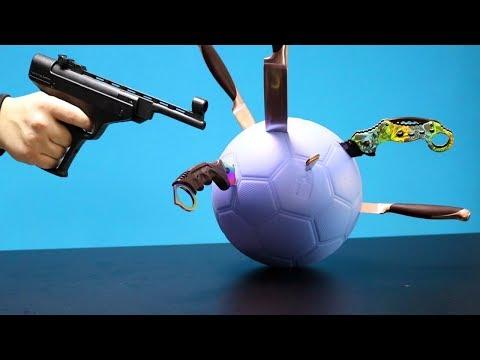 Wie zerstört man einen unzerstörbaren Ball? Experiment