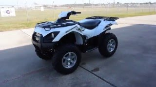 9. $9,999:  2016 Kawasaki Brute Force 750 EPS White Overview and Review