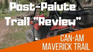 5. Post Paiute Trail Trip Review of the Can Am Maverick Trail 1000 DPS