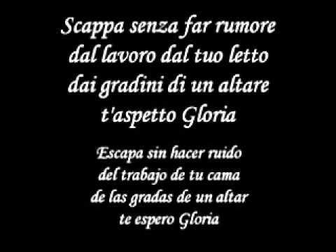 , title : 'Gloria - Umberto Tozzi Italian Version Letra y Traduccion'
