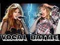 Taylor Swift VS Selena Gomez (Live Vocal Battle)