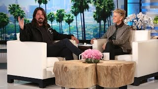 <b>Dave Grohl</b> Talks About Being A Parent