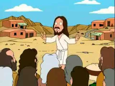 Family Guy : Jesus' magic trick