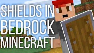 Shields in Bedrock Minecraft