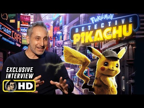 Director Rob Letterman Interview for Pokemon: Detective Pikachu