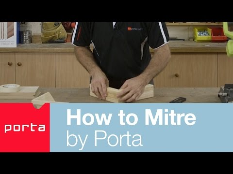 How to Mitre by Porta