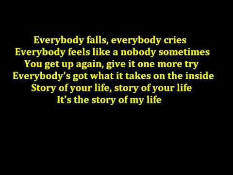 Story Of My Life – Backstreet Boys Lyrics
