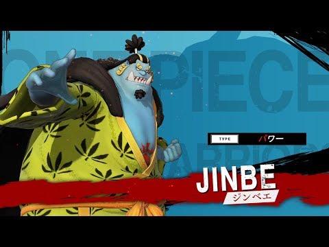 One Piece : Pirate Warriors 4 : Gameplay Jinbe (JP)