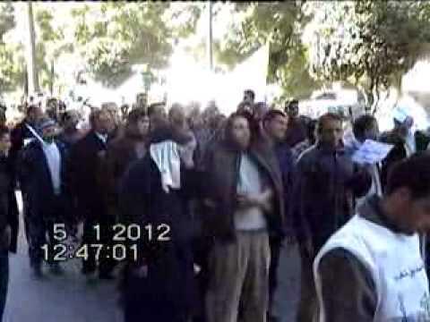 مسيرة مكناس 05-01-2012 .إ.ع.ش.م
