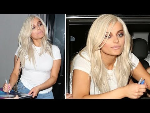 Bebe Rexha Is A Near Spitting Image Of Blonde Kylie Jenner
