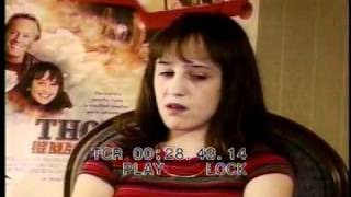 Mara Wilson interview clip from thomas and the magic railroad movie