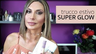 Buongiorno a tutti! Oggi video faccia del giorno con un look super glow adatto per l'estate, pensato anche per mettere in risalto l'abbronzatura. Buona visione;)PRODOTTI MOSTRATI:Milk MakeUp Blur StickLancome Teint Idole Ultra Wear Foundation 045 Sable BeigeMarc Jacobs Dew DropsTarte Shape Tape Contour ConcealerBare Minerals Well Rested Eye BrightenerDior Diorskin Nude Air Care & Dare 002 Amber TanPupa 3D Gold Eyeshadow 001 African Light L.E. SavannahSleek The Gold Standard I-Last Eyeshadow PaletteMulac Daily Mood Eyeshadow PaletteNeve Cosmetics pastello occhi AvorioEssence Long Lasting Eye Pencil Hot ChocolateDior Diorshow Pump 'N' Volume MascaraGuerlain Terracotta 4 Season 04 Moyen Blonde Becca x Jaclyn Hill Champagne Collection Face Palette Limited EditionDiego Dalla Palma Contouring PaletteMilani Lip Pencil 03 NudePlumprageous Metallic Lip Plumper Treatment di GlamGlow in Lusty Per richieste di collaborazione: info@ladyglow.itINSTAGRAM: @ladyglow75FACEBOOK: https://www.facebook.com/ladyglow75