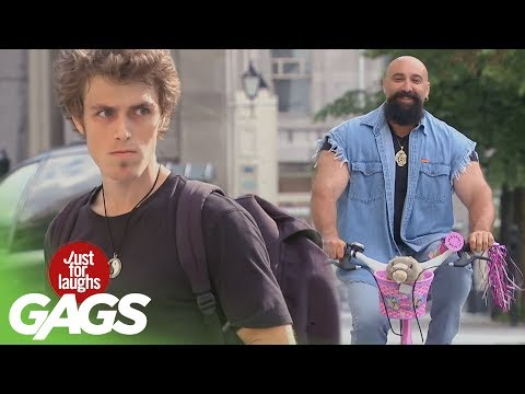 Video Bikers Pranks - Best of Just For Laughs Gags download in MP3, 3GP, MP4, WEBM, AVI, FLV January 2017