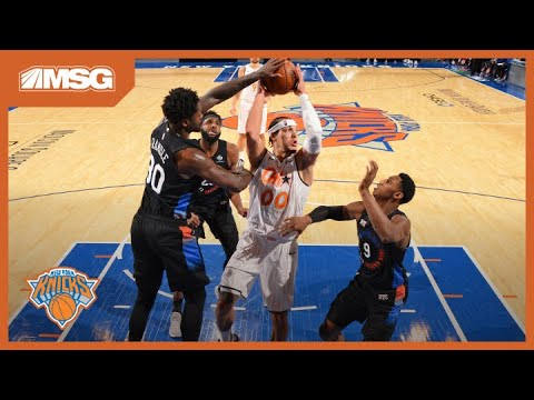 Knicks Fight For The Win In Gritty Game Against Magic | New York Knicks