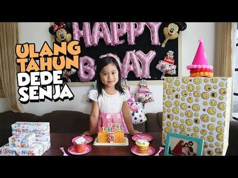 Kejutan di Ulang Tahun Dede Senja - Surprising Birthday Senja Firsta