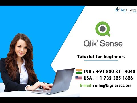 Qliksense Tutorial For Beginners - Qliksense Overview BigClasses