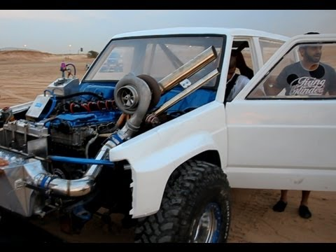 TURBO! - Sand drag race in UAE. December 2012. Some of the 6cylinder cars have over 1500whp. And the v8 turbos even more.. Filmed and edit by: Pbjorck.