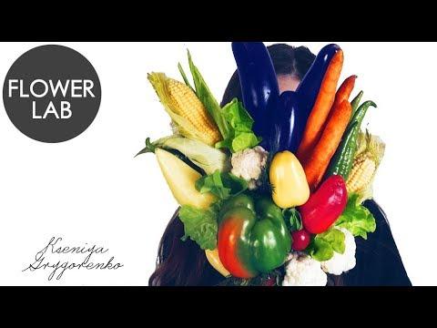 HOW to MAKE a VEGETABLE Bouquet DIY Veggie BOUQUET