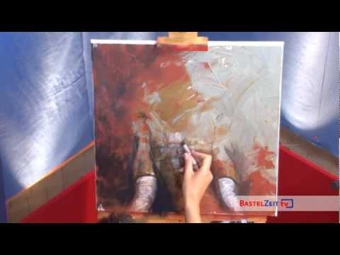 Bastelzeit TV 84 - Acrylmalerei Elefant
