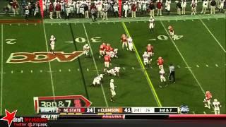 Vic Beasley vs NC State (2012)