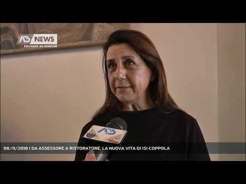 06/11/2019 | DA ASSESSORE A RISTORATORE, LA NUOVA VITA DI ISI COPPOLA