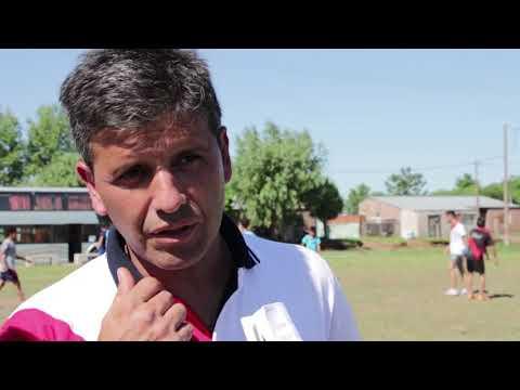 Encuentro de fútbol entre chicos de Buenos Aires y del barrio El progreso