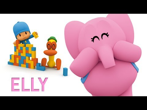 Pocoyo português Brasil - O especial do ELLY  60 minutos com Elly e Pocoyo  Em português europeu