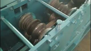 Carbon Steel Square Tube Roll Forming Machine youtube video