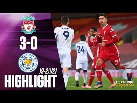 Highlights & Goals | Liverpool vs. Leicester City 3-0 | Telemundo Deportes
