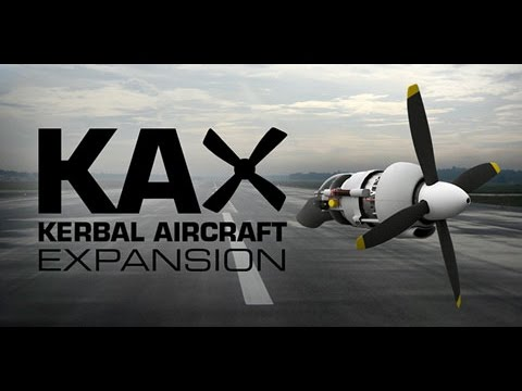 Мод KAX - Kerbal Aircraft Expansion [KSP]