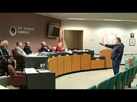 shoot out - Man opens fire on Florida school board, then kills himself.