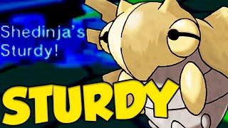 ✔ STURDY SHEDINJA SWEEP! UNKILLABLE POKEMON! by Verlisify