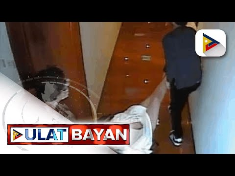 Huling sandali ni Christine Dacera, kuha sa CCTV ng hotel