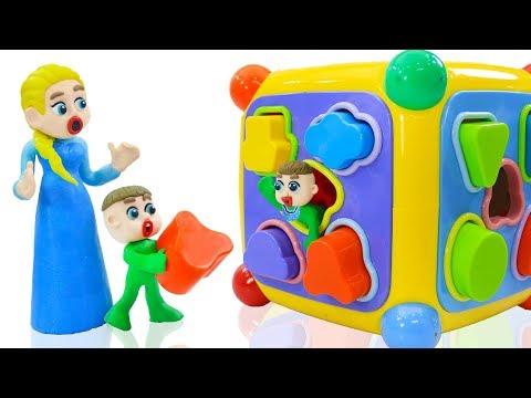 SUPERHERO BABY MOTHER CARE MAGIC BOX  Animation Cartoons Play Doh