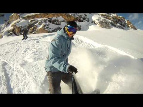 Epic Powder Day on Whistler Peak – Snowboard Video